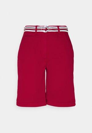 SLIM - Shorts - primary red