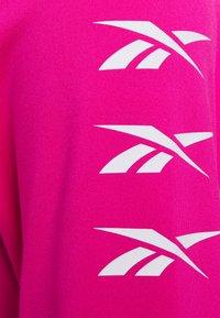 Reebok - LONG SLEEVE - Long sleeved top - pink - 2