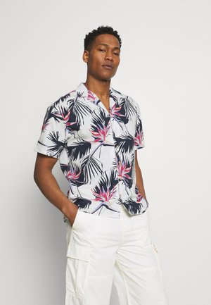 JORFLORAL SHIRT - Skjorta - cloud dancer