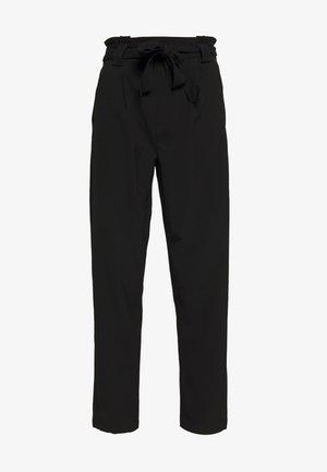 BELT PANT  - Pantalon classique - black