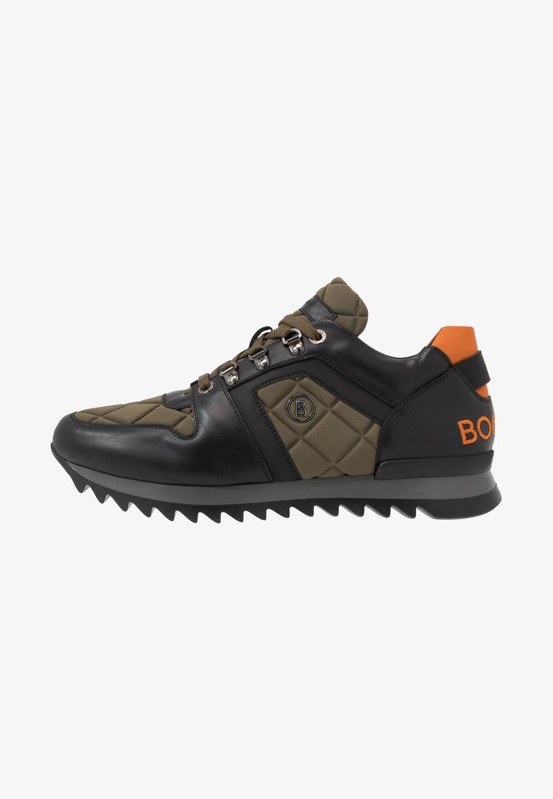 Bogner - SEATTLE - Sneakersy niskie - black/olive