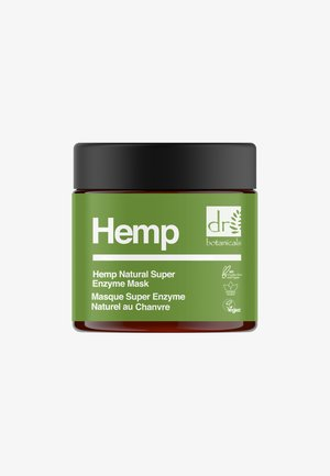 HEMP NATURAL SUPER ENZYME MASK - Face mask - -
