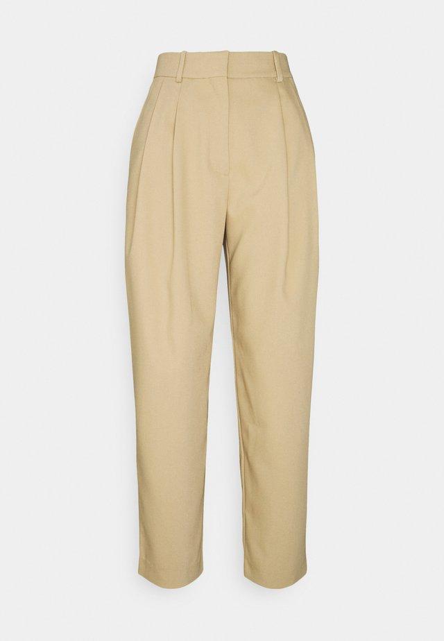 ZINC TROUSER - Pantalon classique - beige
