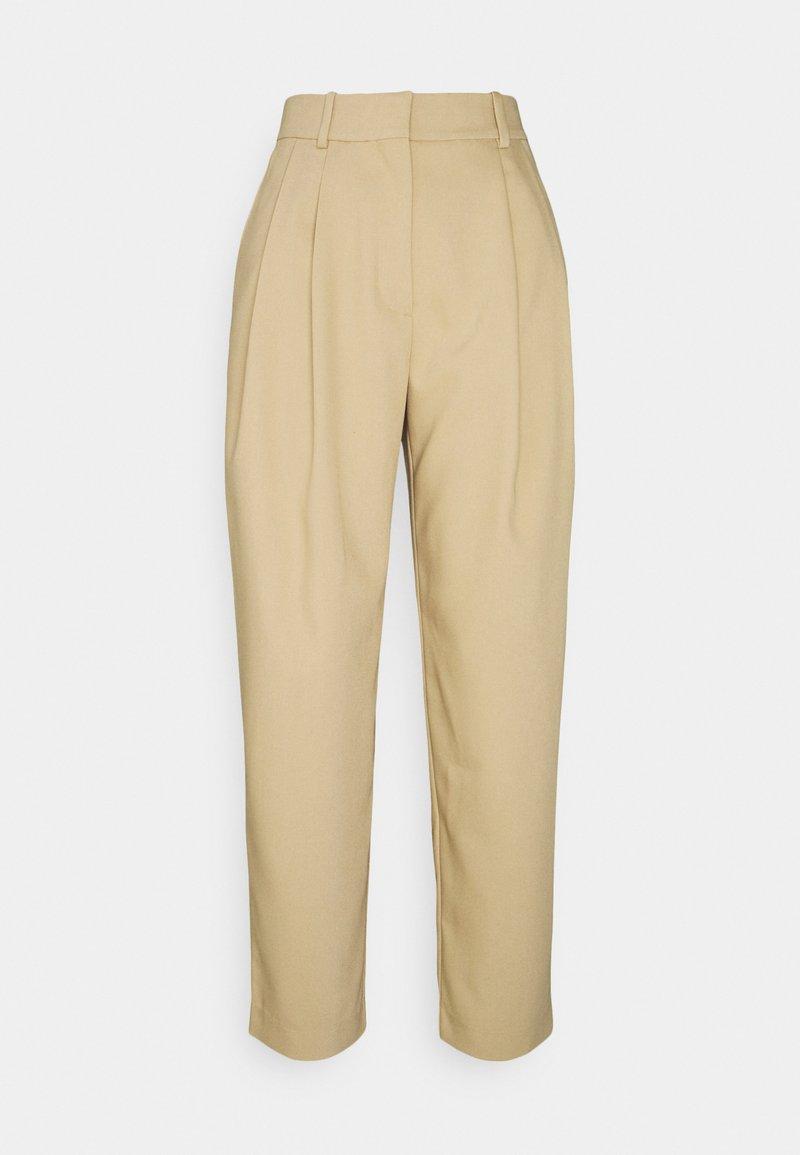 Weekday - ZINC TROUSER - Trousers - beige