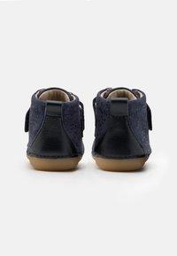 Kickers - SABIO - Dětské boty - marine metallique - 2