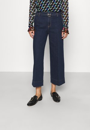 PEGGY PALAZZO STRETCH - Relaxed fit jeans - blue denim