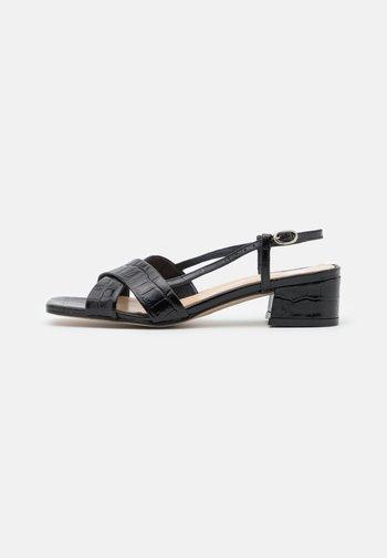 DAFIFI - Sandals - noir
