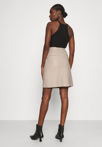 Second Female - FRANCIE MINI SKIRT - Mini skirt - humus - 2