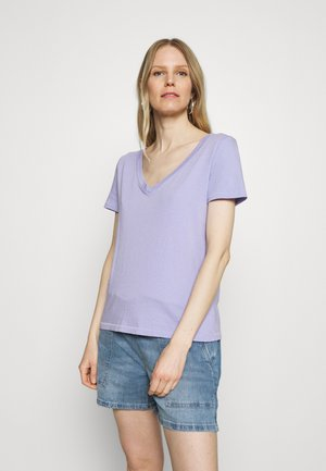 T-shirt basic - thistle down