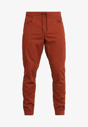 NOTION PANTS - Pantaloni - brick