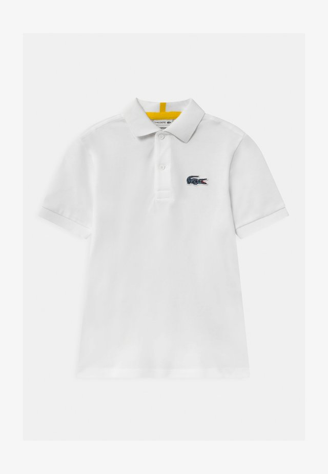 LACOSTE X NATIONAL GEOGRAPHIC - Poloshirt - white