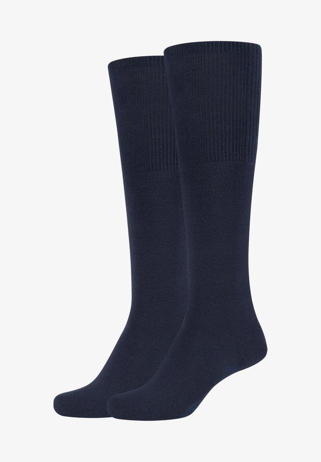 GRACE - Knee high socks - classic navy