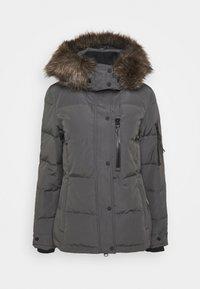 PREMIUM RESCUE JACKET - Down jacket - charcoal
