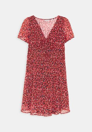 JESSICA - Day dress - rouge motif