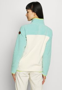 Burton - WOMEN'S HEARTH - Sweat polaire - buoy blue/creme brulee - 2