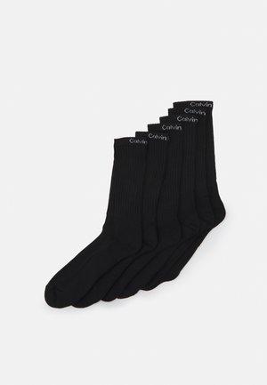SOCK 6 PACK UNISEX - Calze - black