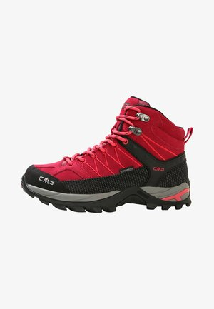 RIGEL MID TREKKING SHOE WP - Hiking shoes - granita/corallo