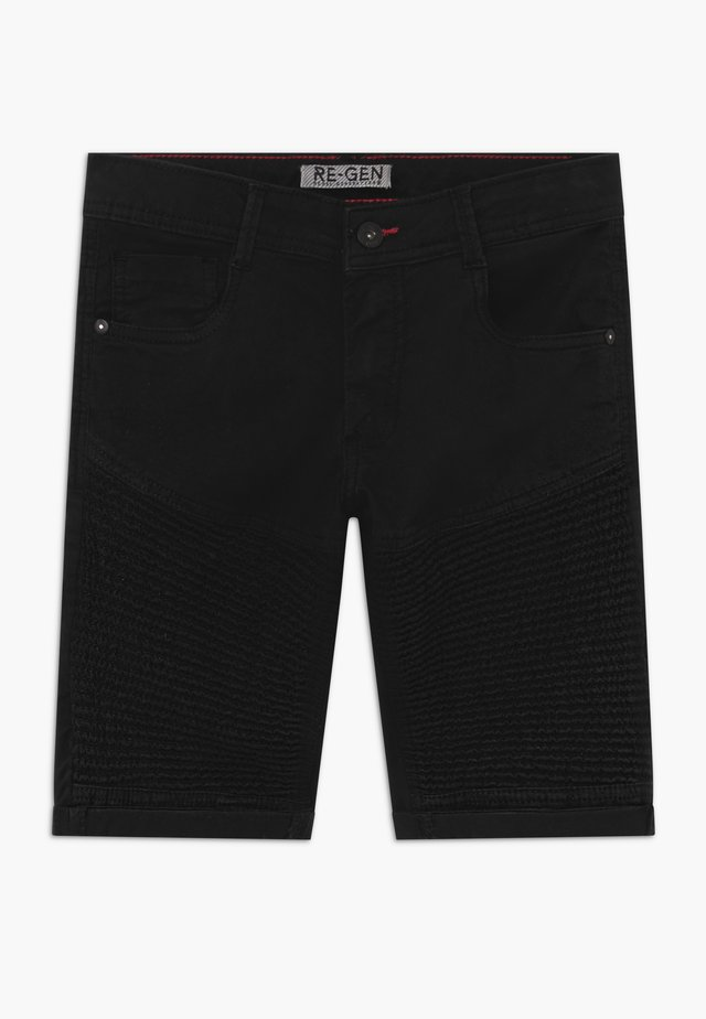 TEEN BOYS BERMUDA - Shorts di jeans - black