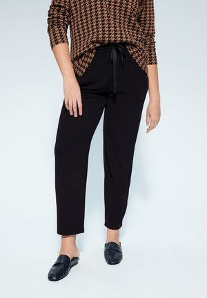 WAIKIKI6 - Trousers - black