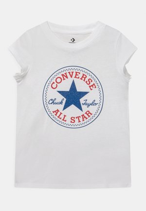 CHUCK PATCH  - Print T-shirt - white