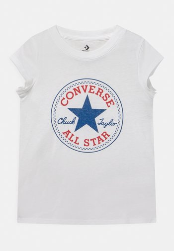 CHUCK PATCH  - T-shirt con stampa - white
