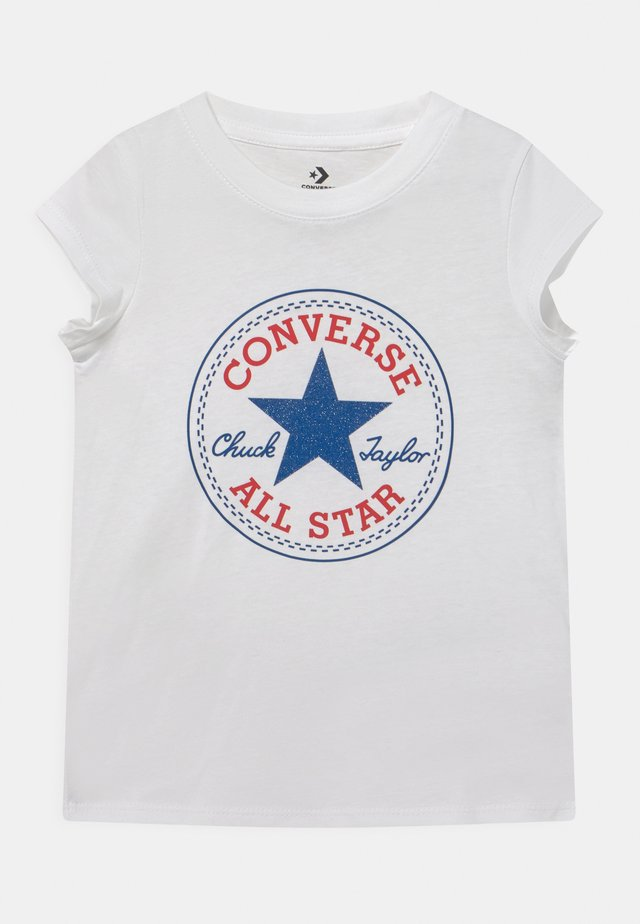 CHUCK PATCH  - Print T-shirt - white