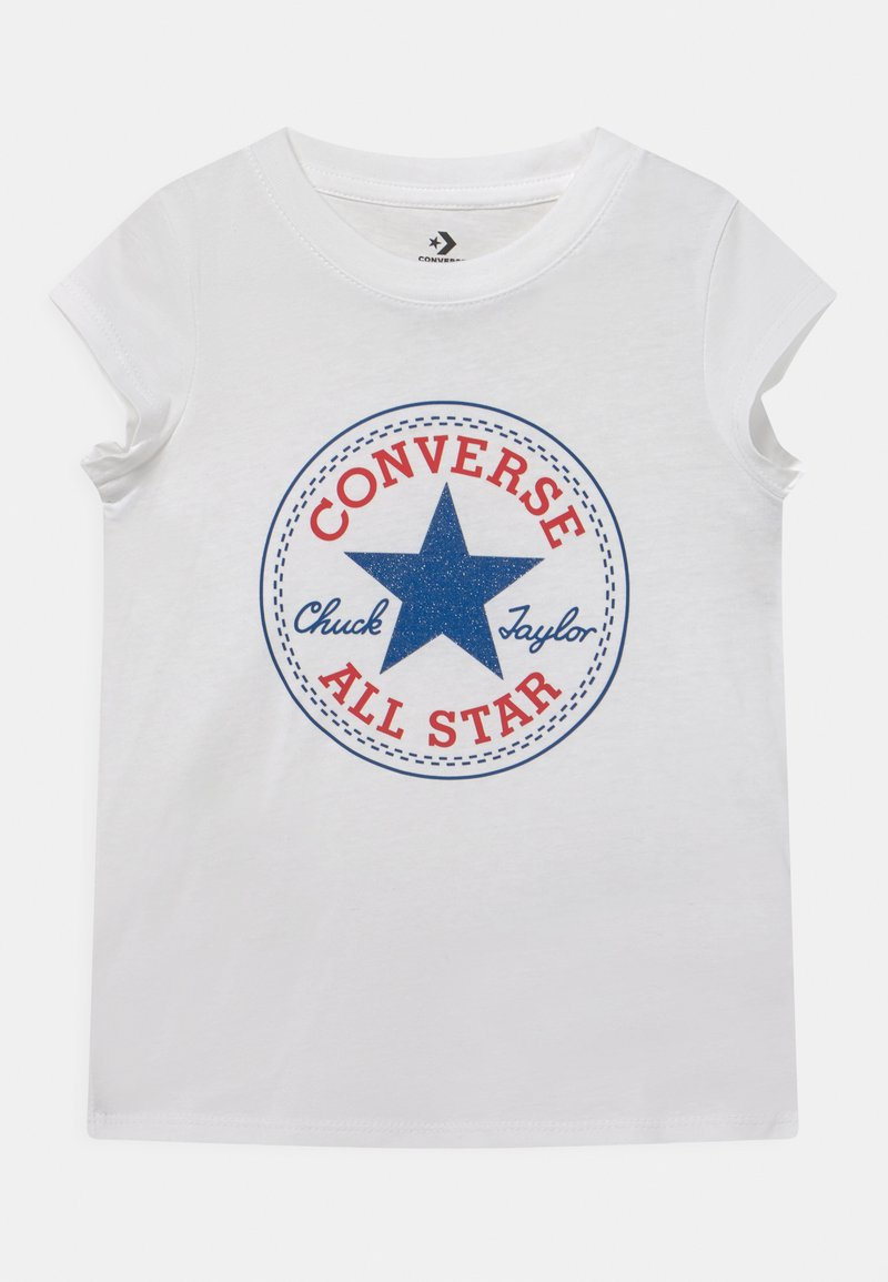 Converse - CHUCK PATCH  - T-shirt con stampa - white