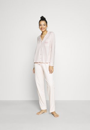 MASCULINE OPTIMISTE LONG STRIPES - Pyjama - pink