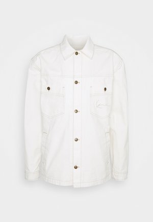 SMALL SIGNATURE JACKET UNISEX - Summer jacket - white