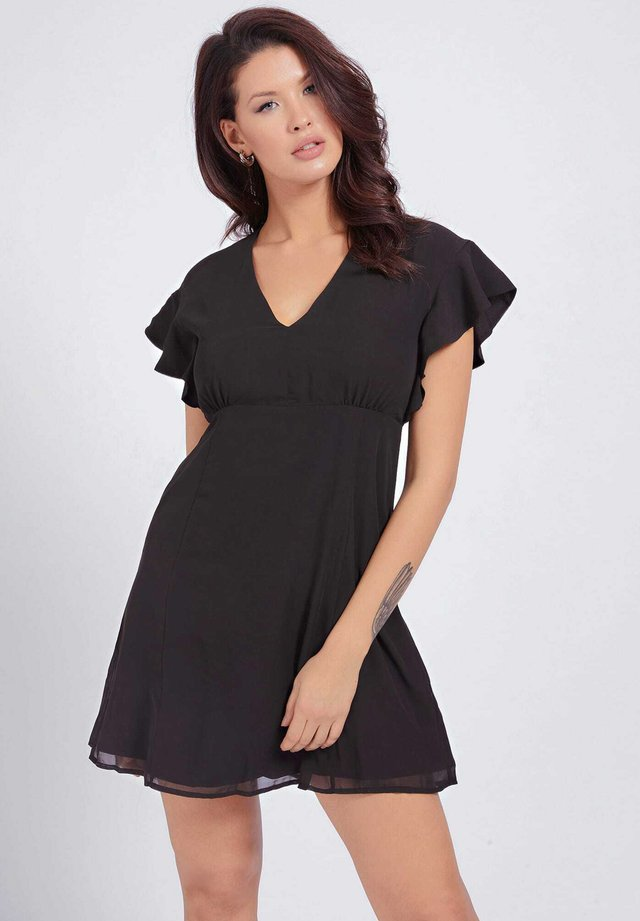 AYAR DRESS - Korte jurk - schwarz