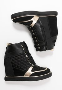 Anna Field - Sneakers alte - black - 3