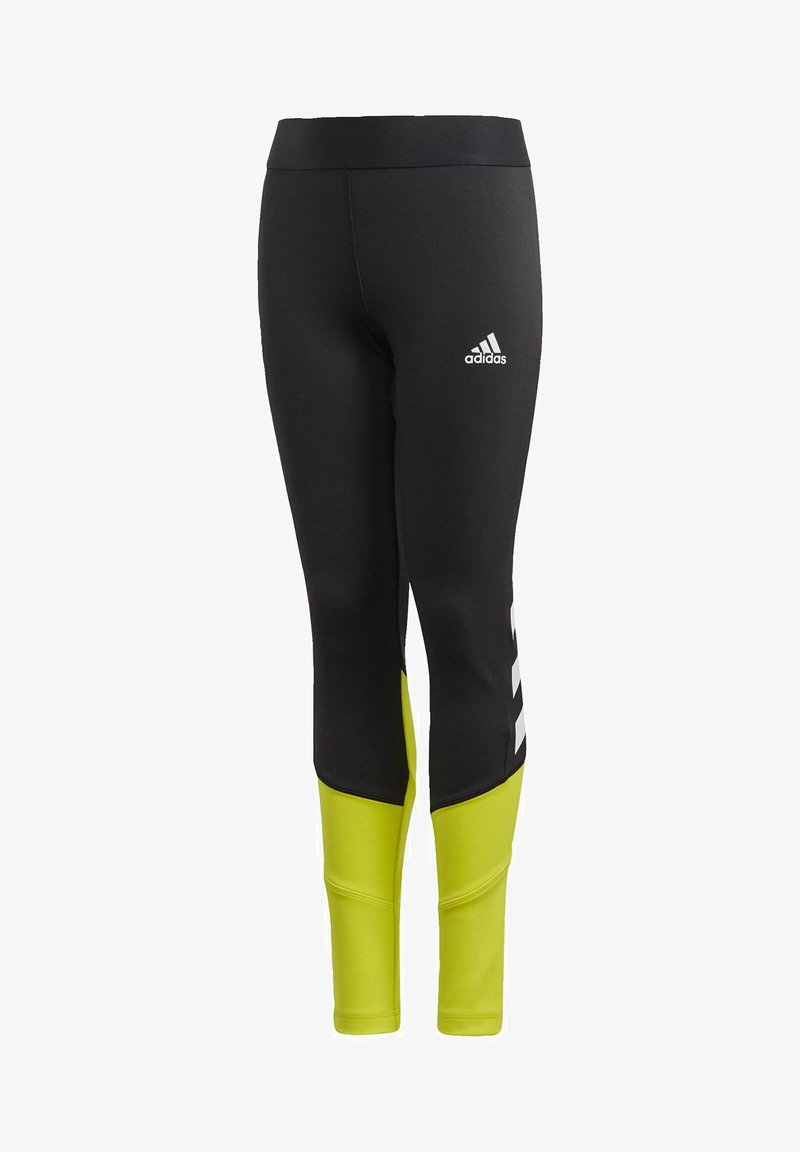 adidas Performance - PRIMEBLUE AEROREADY LEGGINGS - Leggings - black