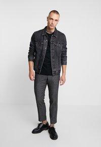AllSaints - TONIC CREW - Basic T-shirt - jet black - 1