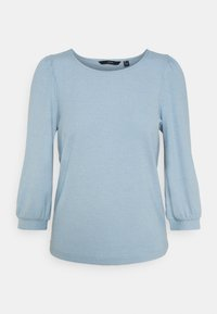 VMFRANCA - Long sleeved top - blue fog
