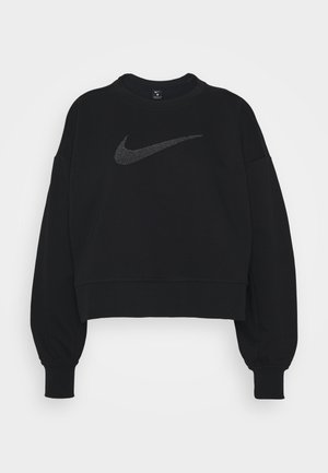 Sweatshirt - black/light smoke grey