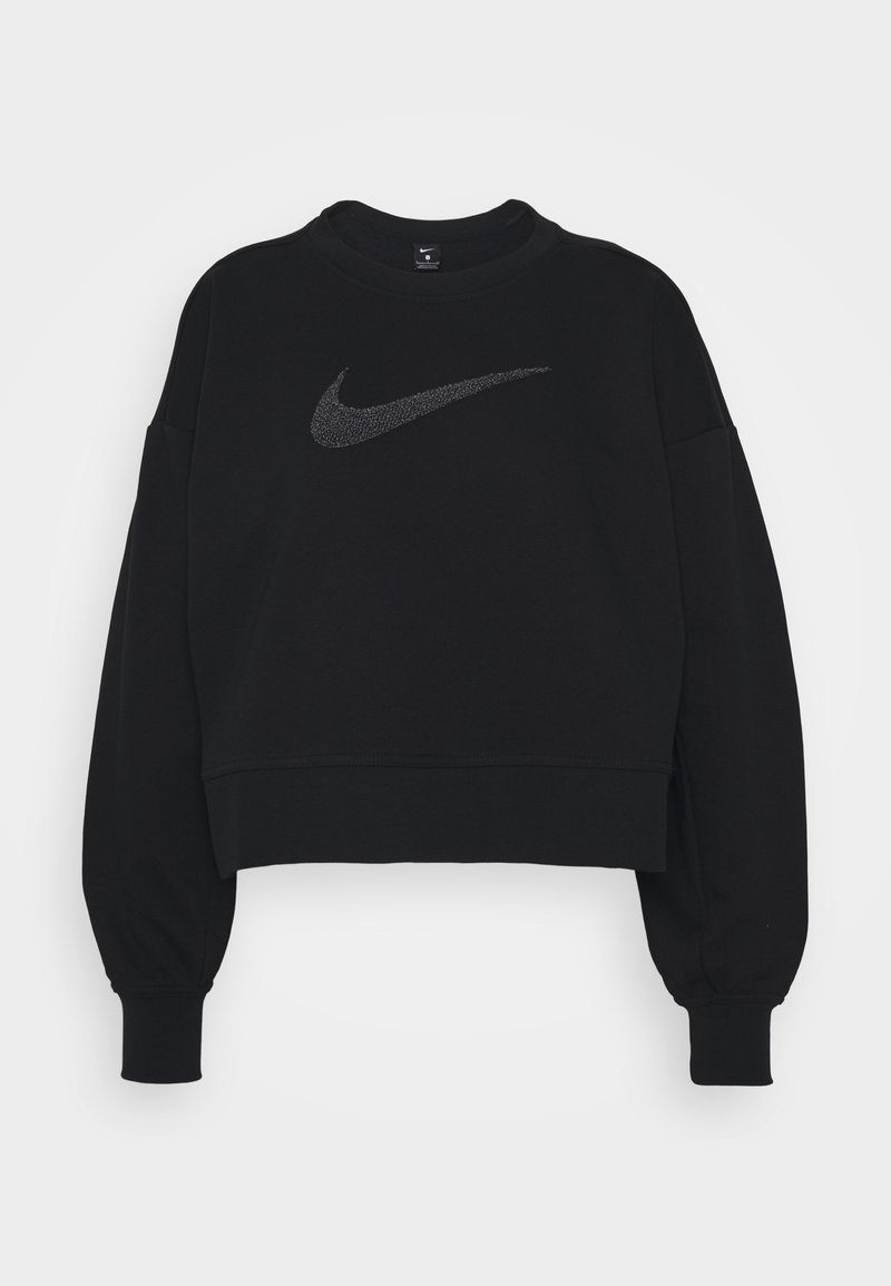 Nike Performance - Mikina - black/light smoke grey
