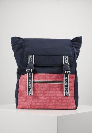 LOGO TAPE BACKPACK - Rucksack - pink