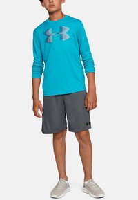 Under Armour - PROTOTYPE WORDMARK - Sports shorts - pitch gray - 0
