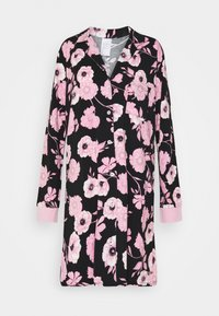 LASCANA - NIGHTGOWN - Camicia da notte - black/rose
