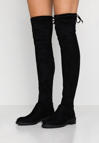 New Look - BOMBAY  - Cuissardes - black - 0