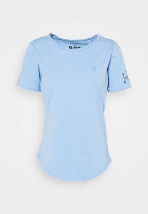 MYSID R T OPTIC SLIM WMN  - Print T-shirt - delta blue