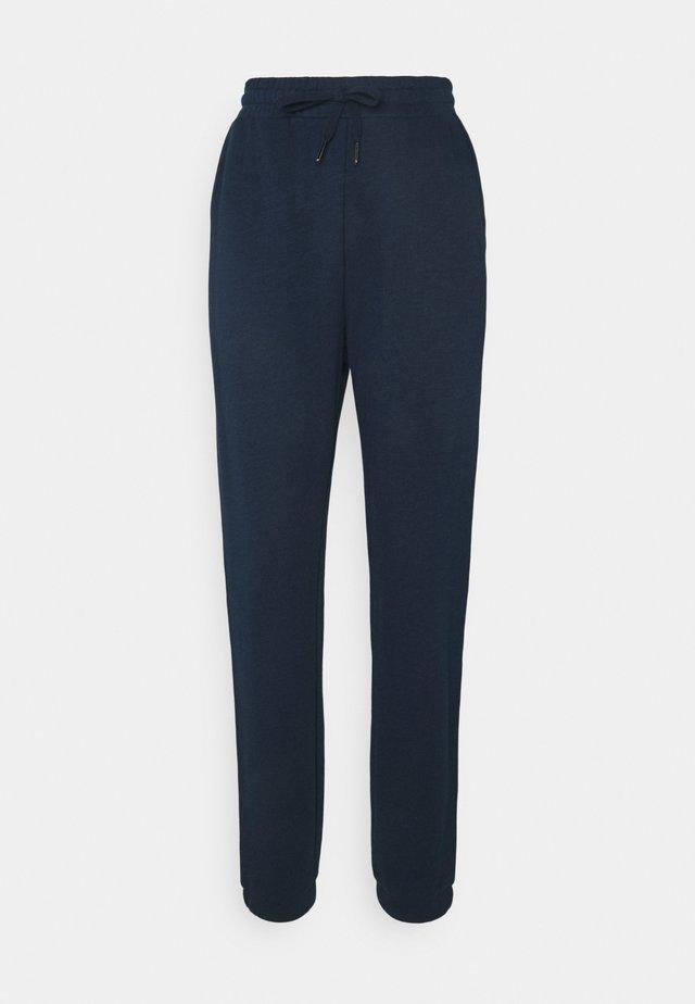 ESSENTIALS - Teplákové kalhoty - navy blue