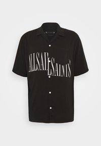 AllSaints - STAMP SHIRT - Shirt - jet black - 0