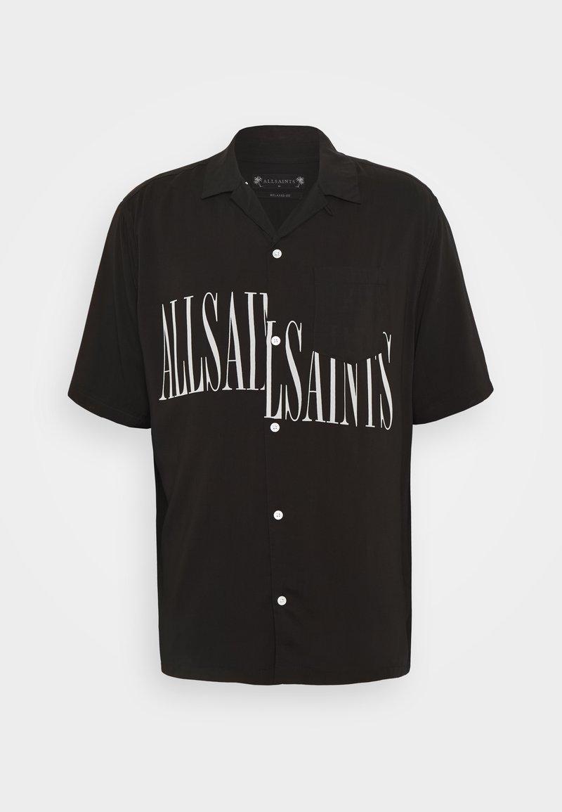 AllSaints - STAMP SHIRT - Shirt - jet black