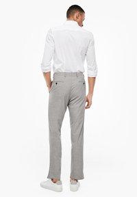 s.Oliver BLACK LABEL - Suit trousers - brown melange - 2
