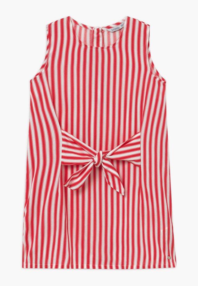 LILIAN - Day dress - red