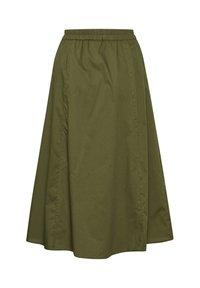 Gestuz - CASSIAGZ  - A-line skirt - dark olive - 7