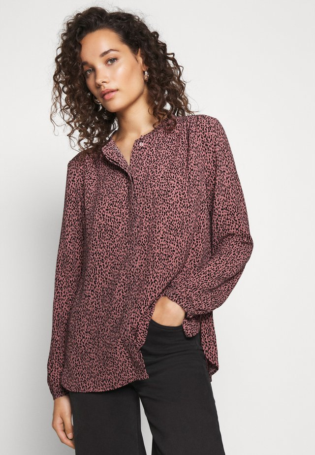 EMILY PRINT SHIRT - Chemisier - rose