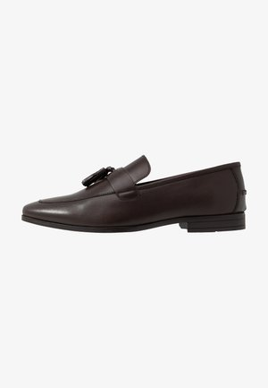 WYATT - Smart slip-ons - brown