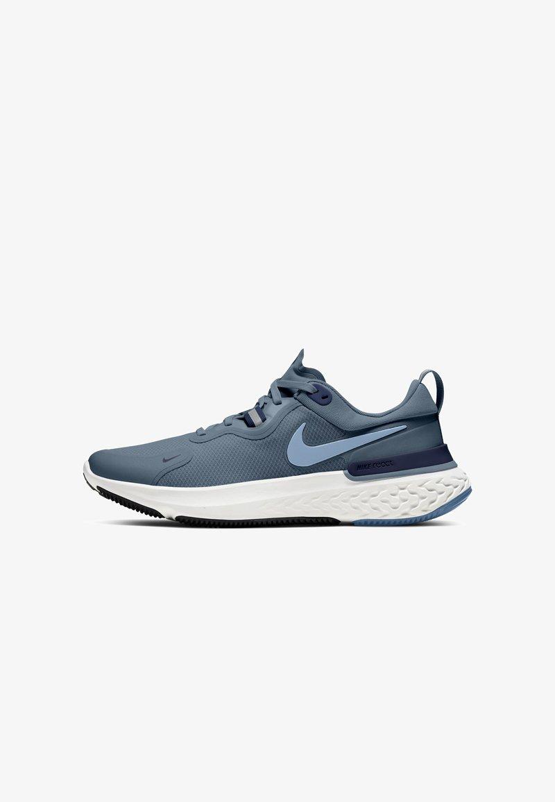 Nike Performance - REACT MILER - Neutrala löparskor - ozone blue/midnight navy/white/celestine blue